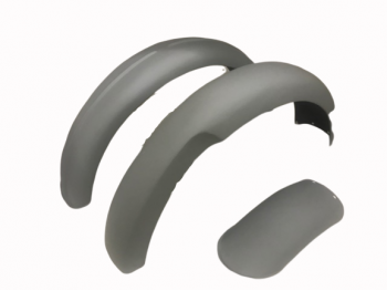 NORTON 16H FRONT AND REAR MUDGUARD / FENDER SET RAW STEEL|Fit For