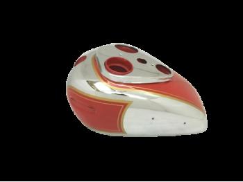 ARIEL PRE WAR 350cc RED HUNTER RED & CHROME GAS PETROL TANK |Fit For