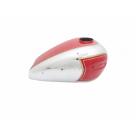 ARIEL 350CC RED PAINTED CHROME FUEL / PETROL TANK |Fit For