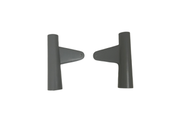 ARIEL 350/500 PLUNGER MODEL HEADLIGHT HOLDERS WITH EARS RAW |Fit For