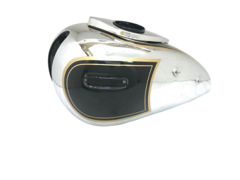 ARIEL 500CC RED HUNTER GAS FUEL PETROL TANK CHROMED & PAINTED BLACK|Fit For