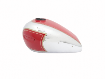 ARIEL 350CC RED PAINTED CHROME FUEL / PETROL TANK - BRAND NEW