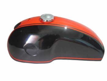 BENELLI MOJAVE CAFERACER DUAL PAINTED GAS FUEL PETROL TANK WITH CAP |Fit For