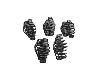 """5 x PAIR HARLEY BOBBER CHOPPER BSA TRIUMPH 5"""" BLACK SOLO SEAT SPRINGS *WHOLESALE 