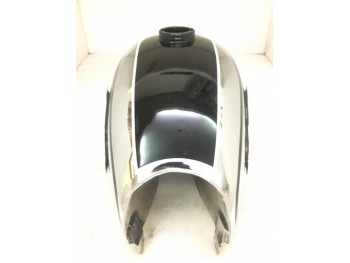 Horex Regina Chrome And Black Painted Steel Petrol Tank |Fit For