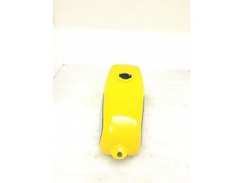 HUSQVARNA 1974 CR 250 WR 250 MAG NEW REPRO YELLOW PAINTED ALUMINUM TANK |Fit For