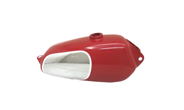 HUSQVARNA 1974 CR 250 WR 250 MAG NEW REPRO RED PAINTED ALUMINUM TANK |Fit For