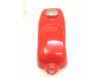HUSQVARNA 1974 CR 250 WR 250 MAG REPRO RED PAINTED ALUMINUM TANK + CAP |Fit For