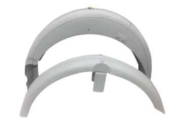 MATCHLESS FRONT & REAR MUDGUARD RAW STEEL |Fit For