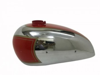 PANTHER M100 600cc RED PAINTED CHROME GAS FUEL TANK 1947-1953 |Fit For