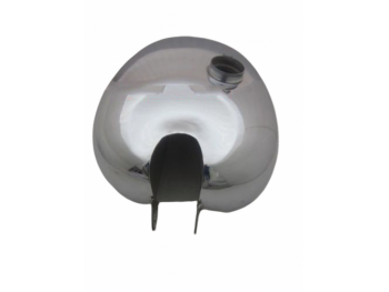 PANTHER M100 M120 CHROME GAS FUEL PETROL TANK READY TO PAINT |Fit For