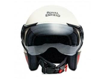 100% Genuine Royal Enfield Scrambler Helmet Baker Express Matt White|Fit For