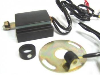 12 Volt Complete Electronic Ignition Kit #145770 For Royal Enfield Bullet