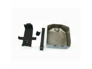 Battery Box With Cover & Lock Steel Chrome Plated Fits Royal Enfield Bullet