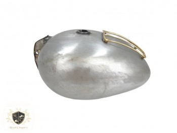 ROYAL ENFIELD 350CC 500CC 4.5 GALLON FUEL TANK WITH BRASS GRILL