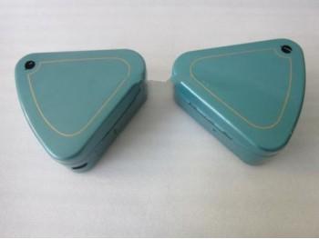 ROYAL ENFIELD FLAT LID PAINTED TOOL BOX SET RTP (BRAND NEW)