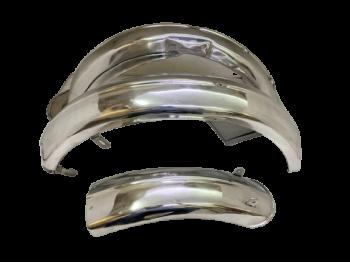 Velocette Mac Mov Gtp Kts Mss Front & Rear Fender Mudguard Set Aluminum |Fit For