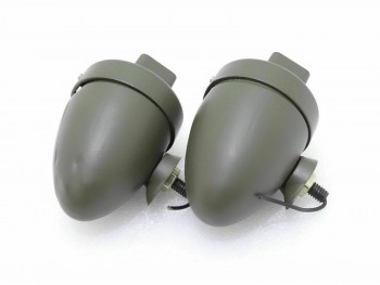 WILLYS MBD GPW G503 BLACKOUT CAT EYE MARKER LIGHT PAIR |Fit For