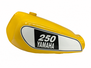 Yamaha Xt 250 3Y3 4Y1 Yellow Painted Petrol Tank 1980-1990|Fit For