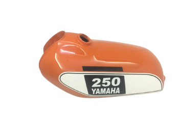 YAMAHA 250 DT Enduro,Orange Painted Tank 1975 to 1977 |Fit For