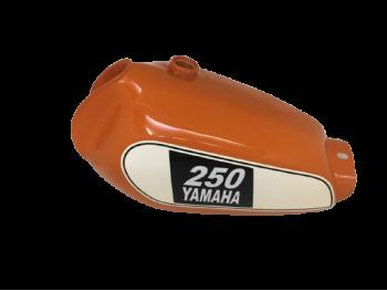 YAMAHA XT 250 3Y3 4Y1 Orange Painted petrol tank 1980-1990 |Fit For