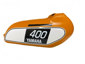 YAMAHA 250 DT / 400 DT Enduro,Orange Painted Tank 1975 to 1977 |Fit For
