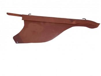 AJS CHAIN GUARD RIGID MODEL 350 500 SINGLE ( RAW STEEL)