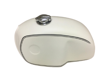 BMW R100 RT RS R90 R80 R75 CREAM PAINTED STEEL PETROL TANK  Fit For