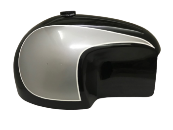 BMW HOSKE HEINRICH BLACK & SILVER PAINTED PETROL TANK CAN |Fit For