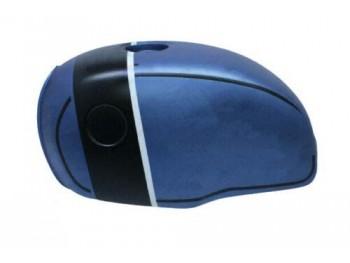 BMW R100 RT RS R90 R80 R75 BLUE & BLACK STRAP MATT PAINTED STEEL TANK| Fit For