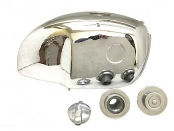 BMW R100S R100CS R100RS R100RT CHROMED STEEL PETROL FUEL TANK + CAP+ MONZA CAP|Fit For