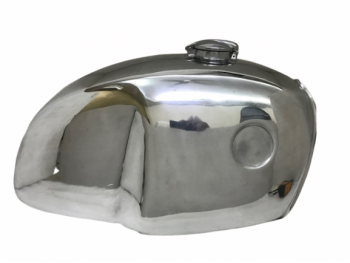 BMW R100 RT RS R90 R75 R80 CHROMED STEEL PETROL FUEL TANK WITH CAP|Fit For