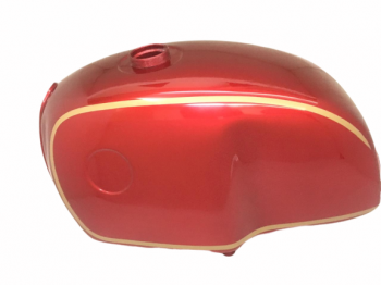 BMW R100 RTRS R90 R80 R75 RED AND GOLD PAINTED STEEL PETROL TANK |Fit For