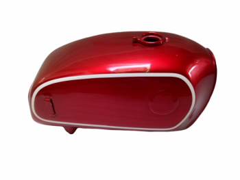 BMW 75/5 CHERRY PAINTED ALUMINUM FUEL PETROL TANK 1972 MODEL |Fit For