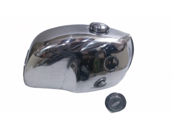 BMW R100S R100CS R100RS R100RT CHROMED STEEL PETROL FUEL TANK WITH CAP |Fit For