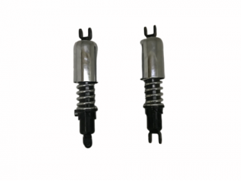 Jawa 353 354 359 360 Black Chrome Plated Pair Rear Shock Absorber - (Fits For)    65 30  Fit For