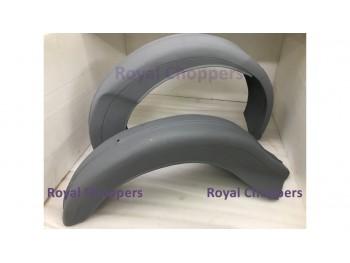 ARIEL VB600 FRONT & REAR MUDGUARD RAW STEEL (BRAND NEW)
