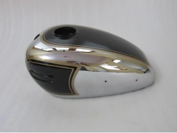 ARIEL 350CC BLACK PAINTED CHROME PETROL TANK