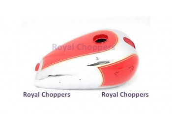 ARIEL 500CC RED PAINTED CHROME PETROL TANK