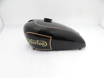 NORTON 16H BLACK PAINTED FUEL  PETROL TANK