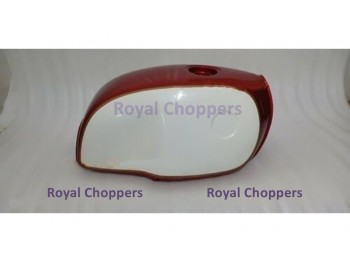 BMW R100 RT RS R90 R80 R75 STEEL RED AND WHITE PAINTED GAS FUEL TANK